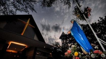 Paroki Bongsari Merayakan HR SP Maria Diangkat ke Surga